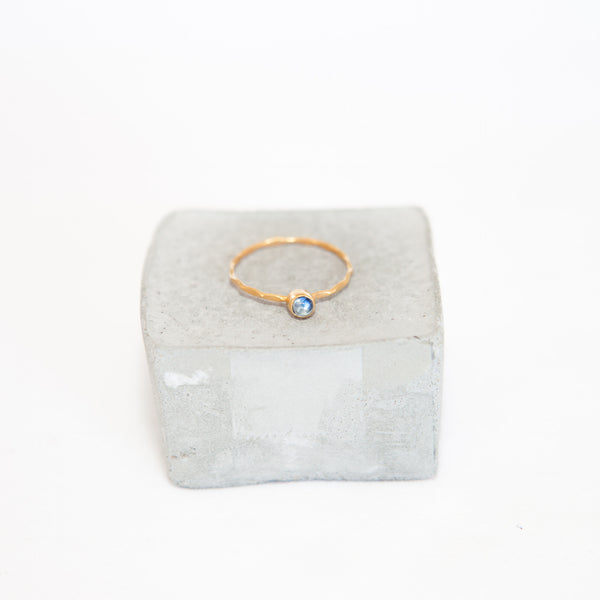 Gold Plated Moonstone