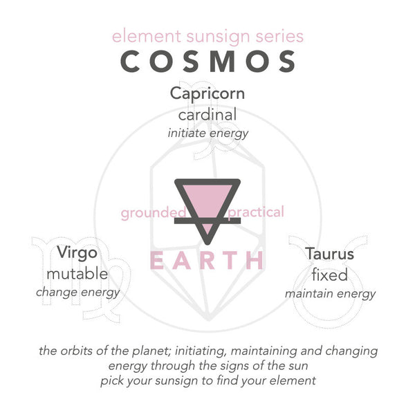 COSMOS Element Sun sign series