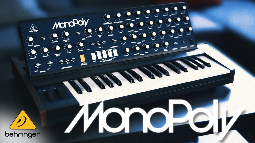 Behringer MonoPoly Synthesizer Is Available For Pre-Order