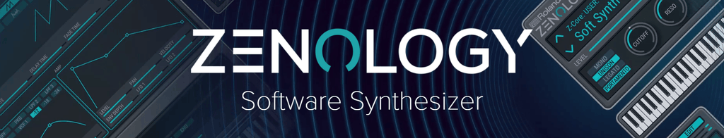Roland Zenology Pro Advanced Software Synthesizer