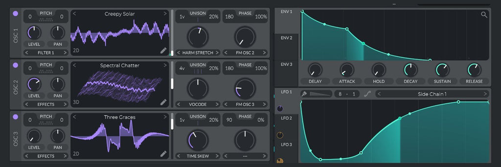 The maker of HELM VST introduce new free synth VITAL