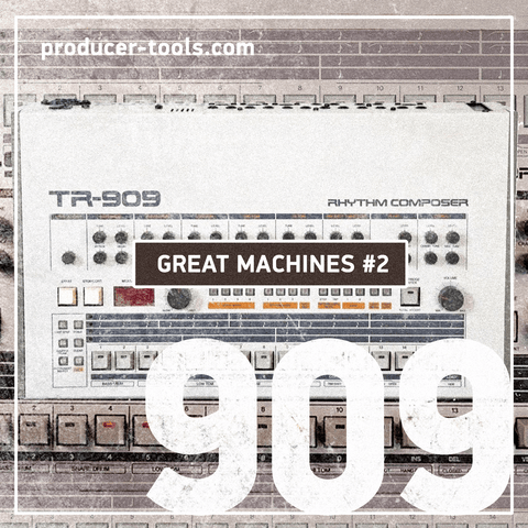 Great Machines #2 - the 909 - producertools.net