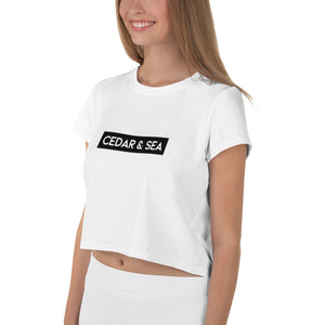 Black Bar Women's Crop Top