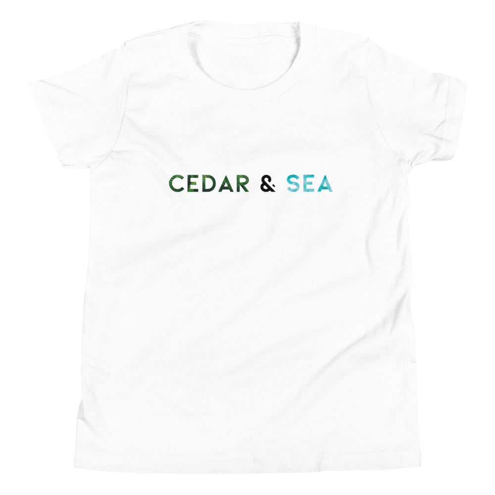 Cedar & Sea Graphic Youth Tee