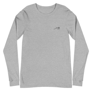Embroidered Long Sleeve Unisex Tee