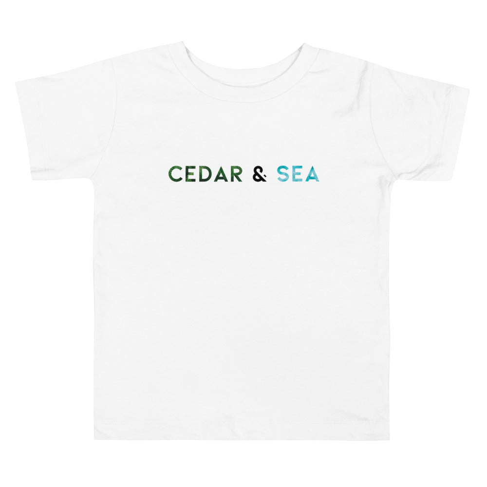 Cedar & Sea Graphic Toddler Tee
