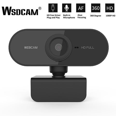 1080p Web Cam - HD Camera for laptop