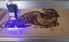 Image of Laser Engraving Machine - 3000MW Blue CNC