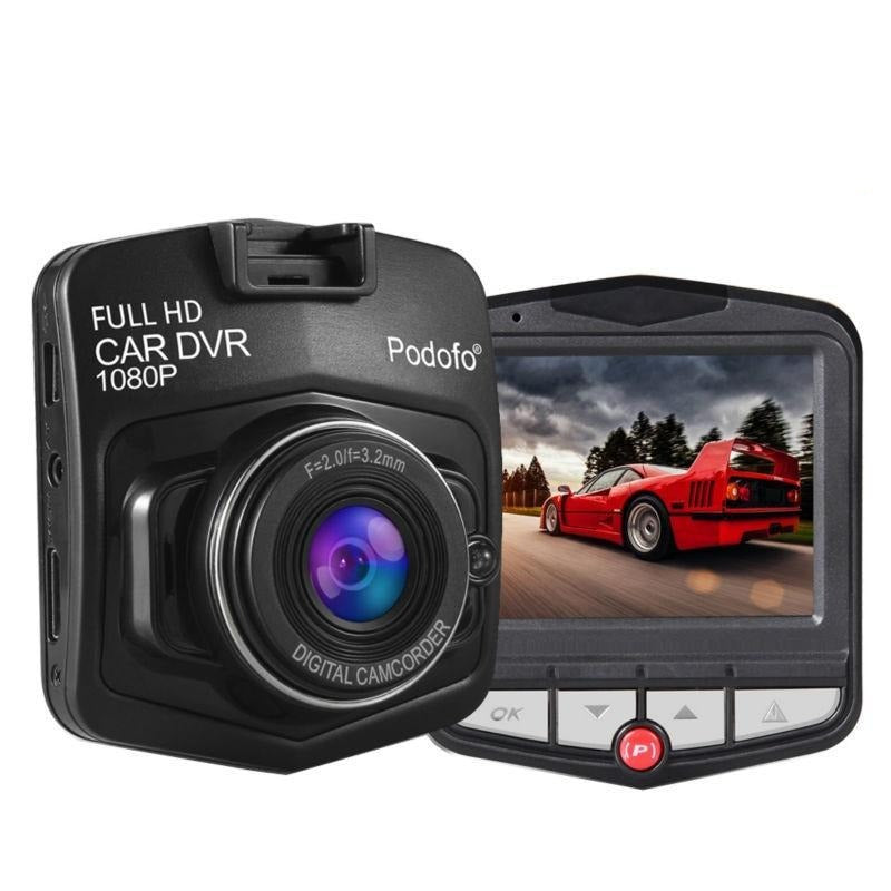 Dash Cam Full HD 1080P + 16GB Card