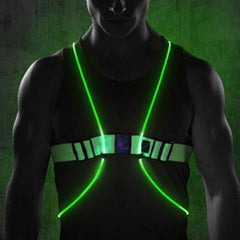 Lighted Running Vest | Flashing High Visibility Vest
