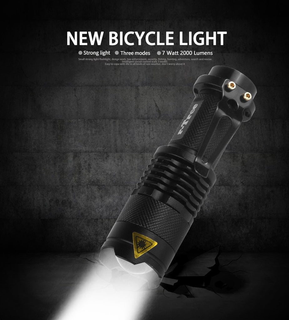Bicycle Front Light - Bike Front Light - Cycle Front Light
