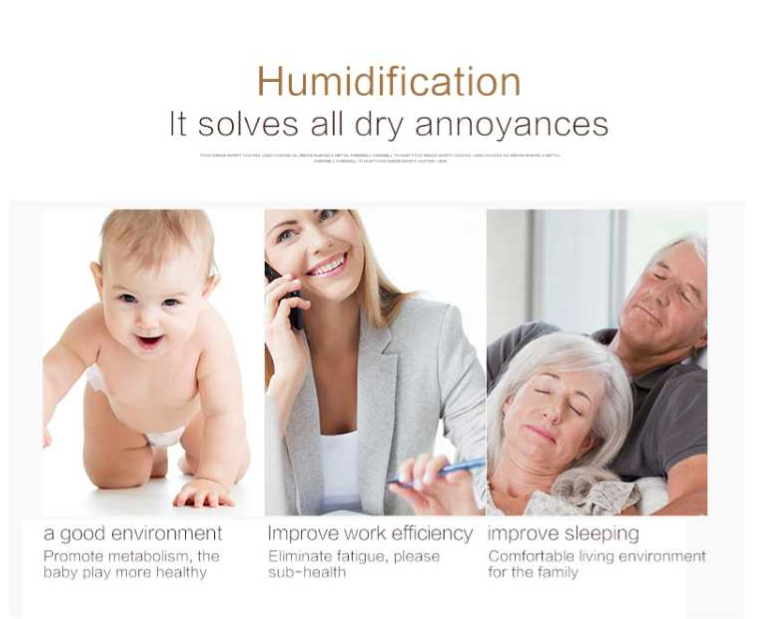 Mini Humidifier - Mini Desk Humidifier