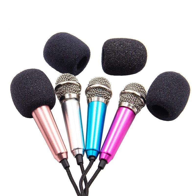 Portable 3.5mm Karaoke Microphone