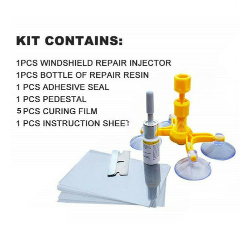 Glass Cracked Repair Kit