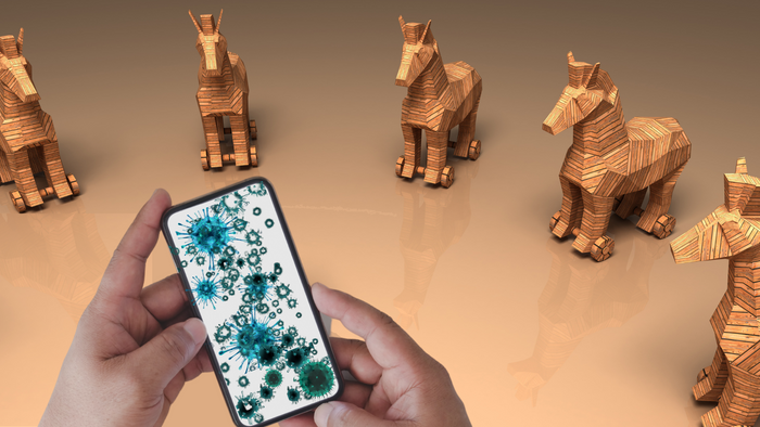 mobile phone virus trojan horse