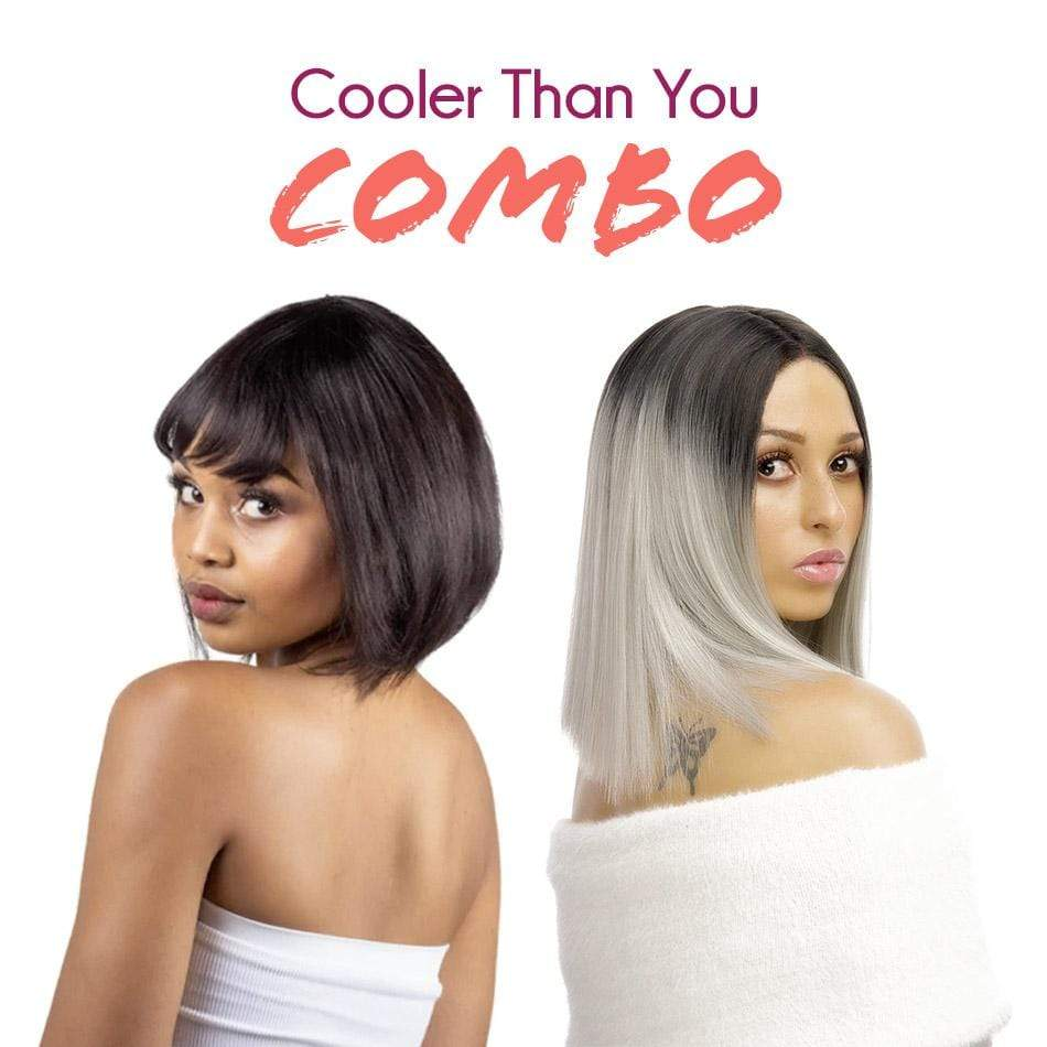 Mixed Combo Wig Combo Cooler Than You Combo