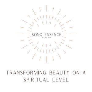Cosmetics Natural Skincare Sono Essence Crystal Infused Skincare Transforming Beauty on a Spiritual Level Organic product routine clean beauty vegan manifest crystal healing beauty Vitamin C toner facial oil men women skincare beautiful