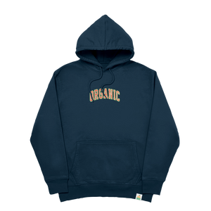 Organic Embroidered Hoodie