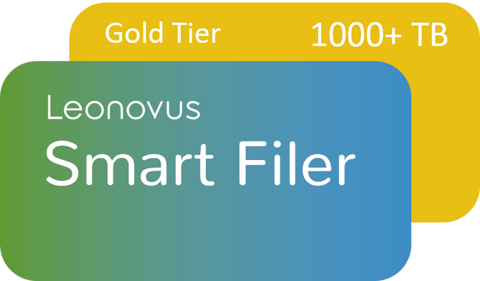 Smart Filer - Gold Tier: 1,000 TB+ (price per TB per year)