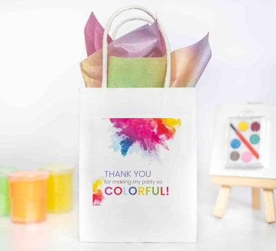 Thank You for making my party so colorful | Party Favors | Salaam Cards