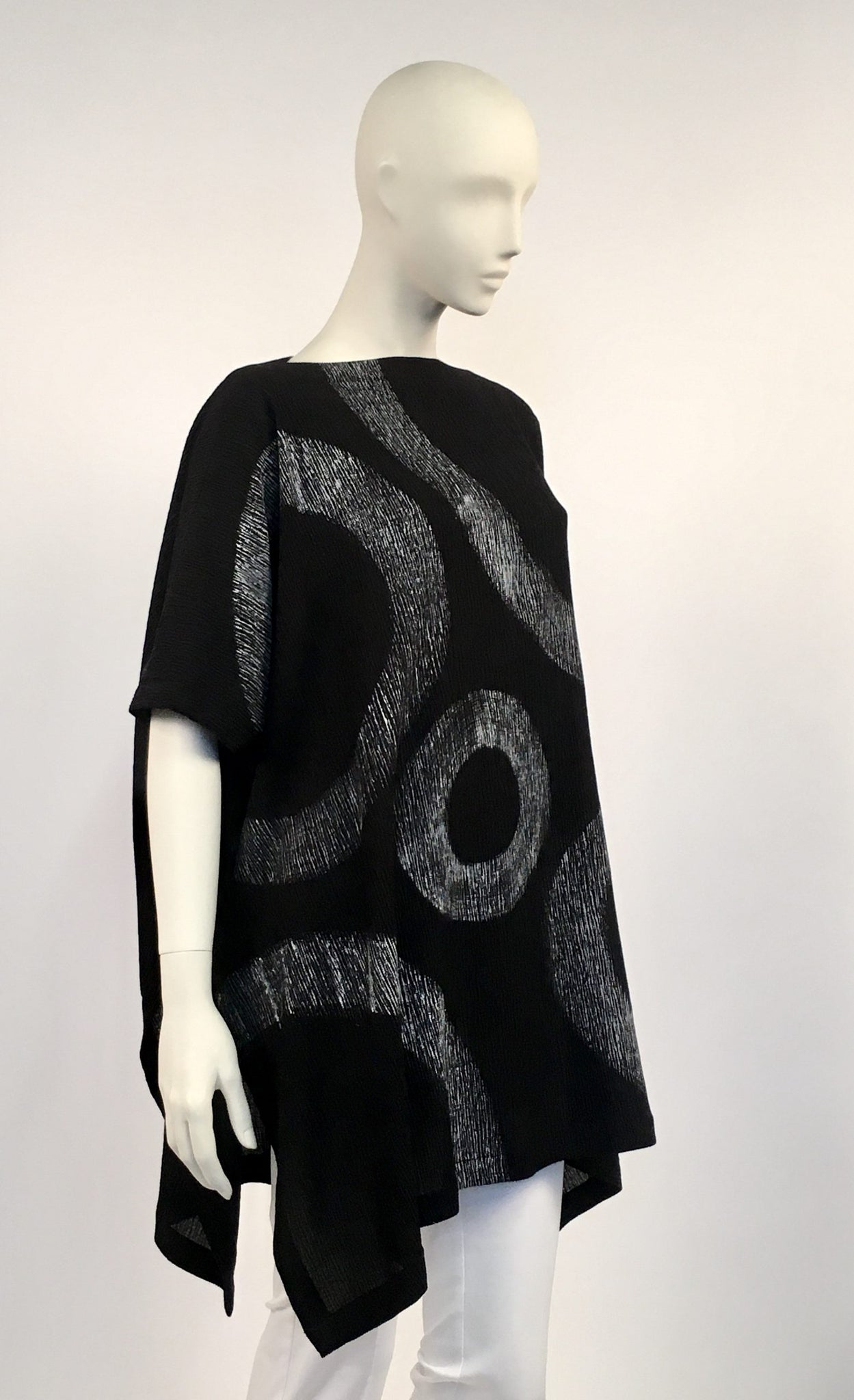 Brushstroke Square Tunic