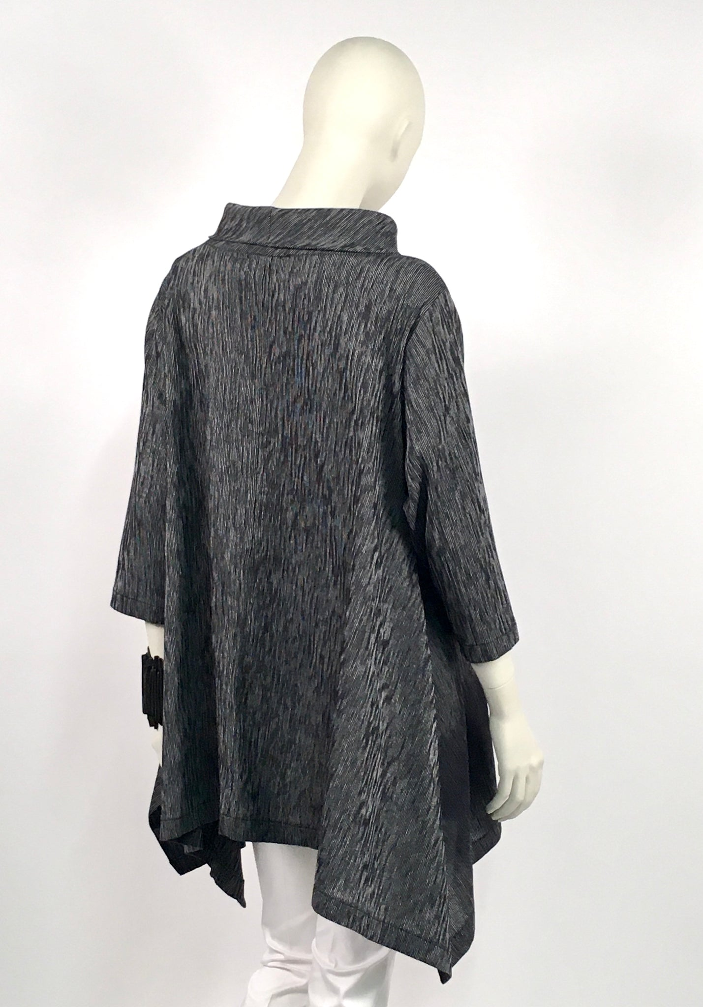 Corded Orchid Tunic
