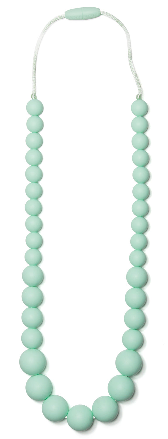 Anna Mint Nursing Necklace