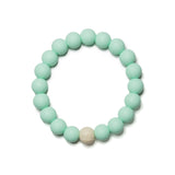 Linda Mint Silicone Teething Jewelry
