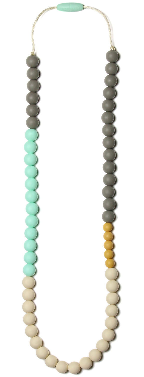 Olivia Mint Teething Necklace