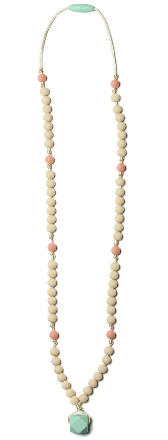 Zooey Mint Teething Necklace