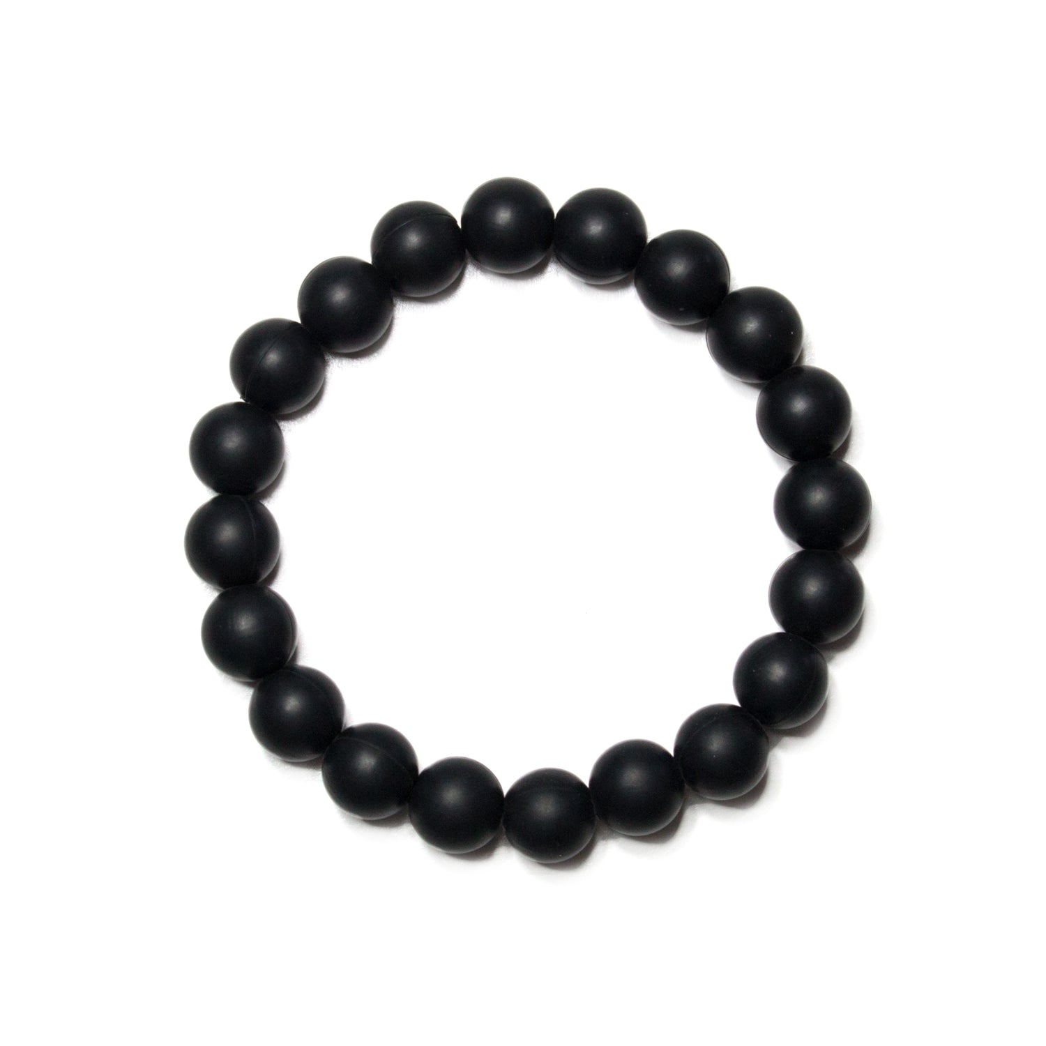 Michelle Black Silicone Teething Jewelry