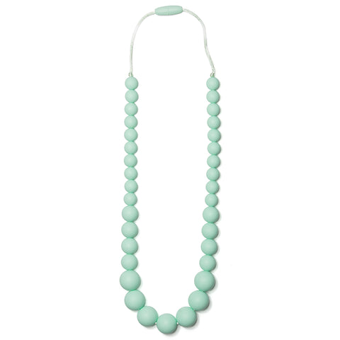 Anna Silicone Teething Necklace - Sweet Mint