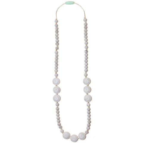 Kayla Silicone Teething Necklace - Marble
