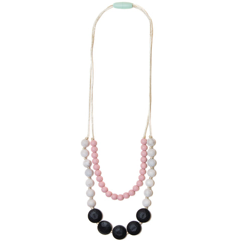 Lana Silicone Teething Necklace- Marble
