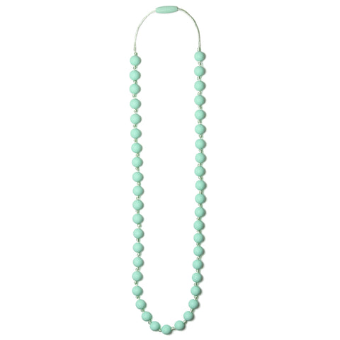 Lexi Silicone Teething Necklace - Sweet Mint