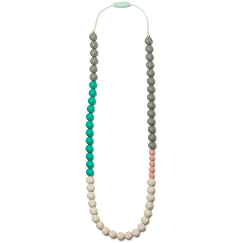 Olivia Silicone Teething Necklace- Mermaid