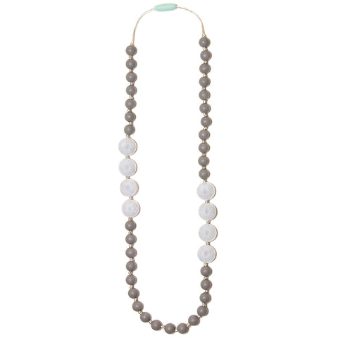 Sofia Silicone Teething Necklace- Marble