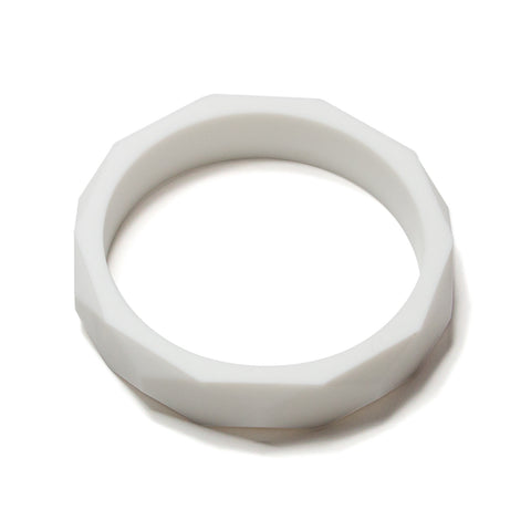 Finley Silicone Teething Bangle - Milk