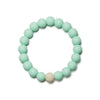 Linda Silicone Teething Bracelet- Sweet Mint