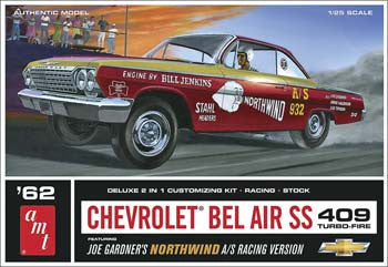 AMTAMT865/12 - 1/25 '62 Chevy Bel Air Super Stock