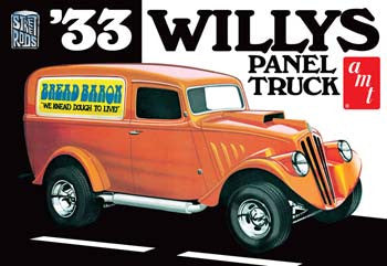 AMTAMT879/12 - 1/25 1933 Willys Panel