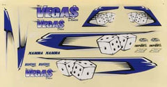 AQUAQUB6304 - Decal Sheet Miss Vegas Deuce