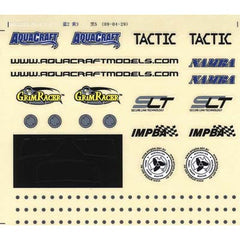 AQUAQUB6305 - Decal Sheet Small Rio EP
