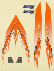 AQUAQUB6325 - Decal Sheet Orange Mini Rio
