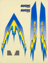 AQUAQUB6327 - Decal Sheet Blue Mini Rio
