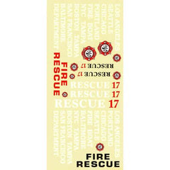 AQUAQUB6331 - Decal Sheet Rescue 17