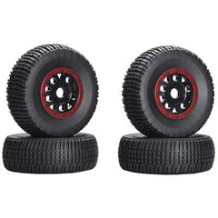 ASC89421 - KMC Wheel/Tire Black/Red (4)