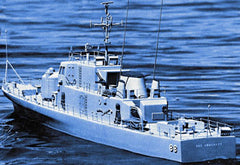 "DUM1218 - USS Crocket Gun Boat 51"" Kit"