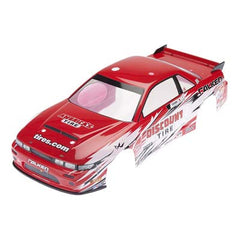 HPI113086 - Nissan S13/Discount Tire Painted Nitro 3 Body