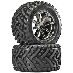 HPI4727 - Mounted Goliath Tire Blast Whl Chrm (2)